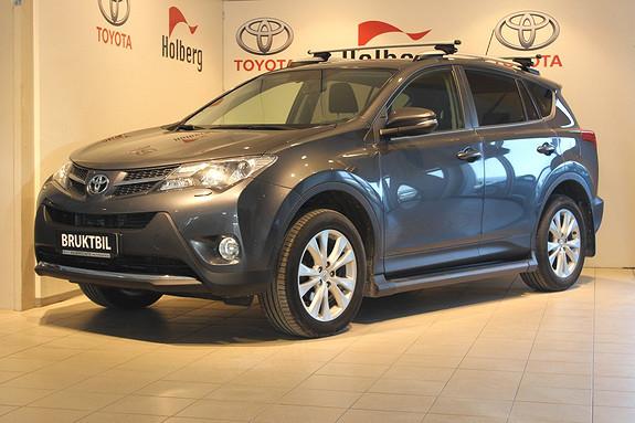 Toyota RAV4 2,2 D-CAT 4WD Active aut Cruise, Navi, Stigtrinn, El Ba  2013, 78590 km, kr 329000,-
