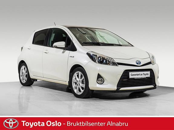 Toyota Yaris 1,5 Hybrid Style e-CVT Glasstak, Automat,  2012, 45832 km, kr 159900,-