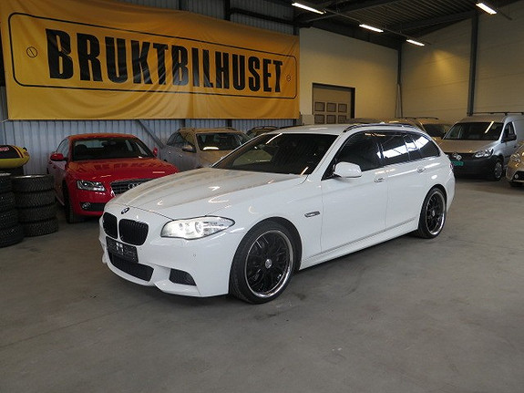BMW 5-serie 520 Dat 163hk M Sport Riktig utstyrt og farver  2012, 133000 km, kr 328660,-