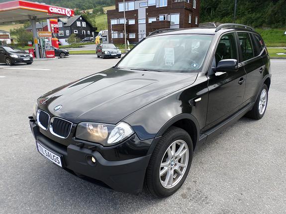 BMW X3 2.0 Td 150 Hk 4WD  Komplett s hefte  2006, 172000 km, kr 99569,-