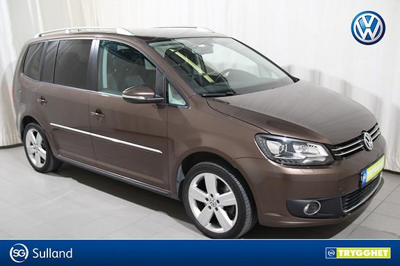 Volkswagen Touran 2,0 140 TDI DSG Exclusive 7-s. Park.varmer/Hengerfeste+
