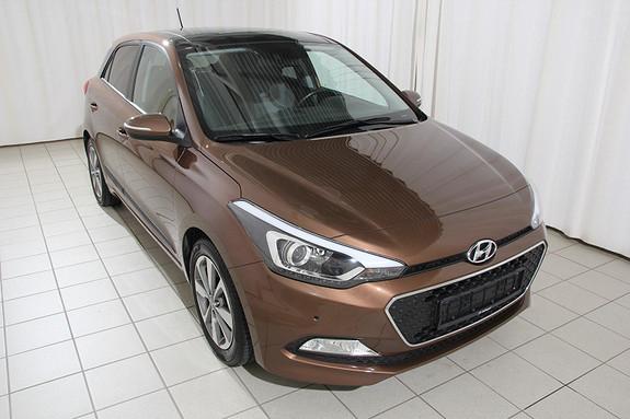 Hyundai i20 1,2 84hk Panorama 5dørs