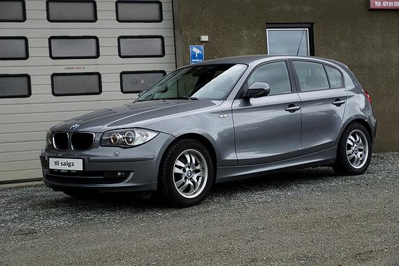 BMW 1-serie 116d SPORT /LAV KM/Sportseter/XENON/AUX/Alle servicer/  2011, 70100 km, kr 129000,-