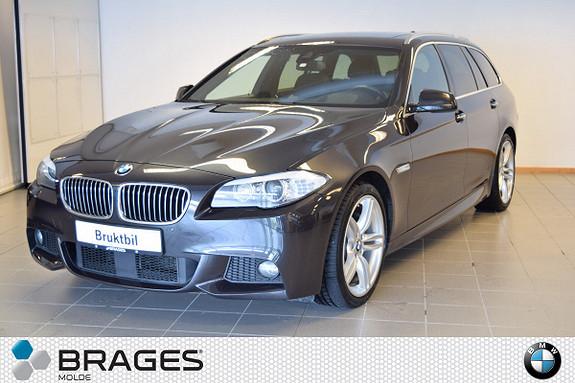 BMW 5-serie 530d xDrive Touring, M-SPORT, KROK, NAVI, MYE UTSTYR  2013, 149000 km, kr 479000,-
