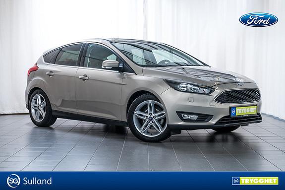 Ford Focus 1,0 EcoBoost 125hk Sport Navigasjon,DAB+,Audiostreaming