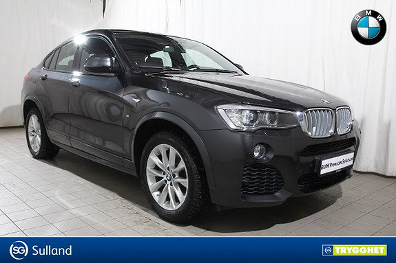 BMW X4 xDrive20d aut M.sport-H.U.D-S.leser-Nav-Oppv.r-solt-DAB