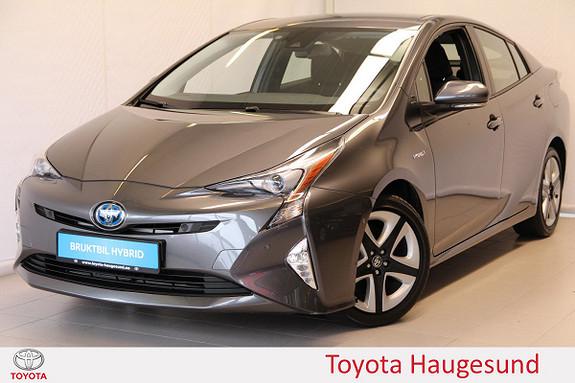 Toyota Prius 1,8 VVT-i Hybrid Executive Navi, kamera, DAB+, Tectyl  2017, 7422 km, kr 319000,-