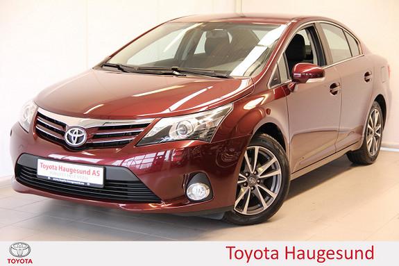 Toyota Avensis 2,0 D-4D 124hk Advance Navi, kamera, Bluetooth, Tectyl  2012, 44549 km, kr 190000,-