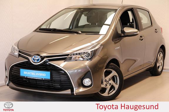 Toyota Yaris 1,5 Hybrid Active S e-CVT Navi, kamera, DAB+, Tectyl  2016, 8399 km, kr 199000,-