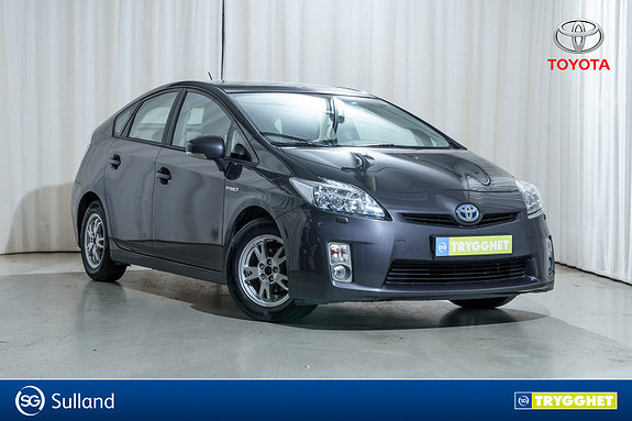 Toyota Prius 1,8 VVT-i Hybrid Premium ACC, Solcelle, Skinn, Navi+++