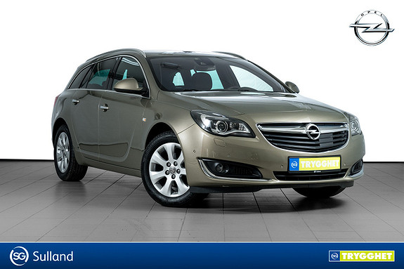 Opel Insignia Sports Tourer Premium CDTi 136hk aut HENGERFESTE-NAPPA