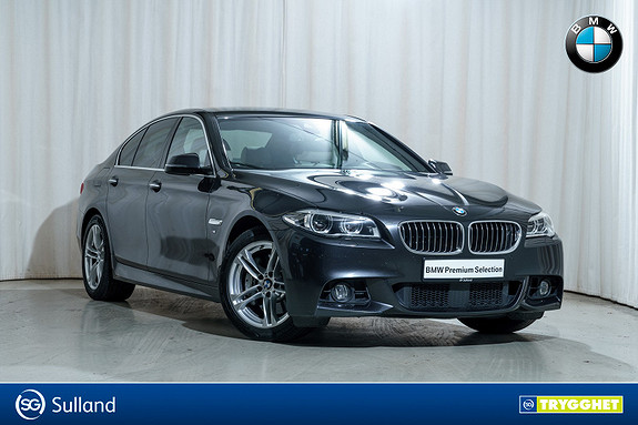 BMW 5-serie 530d xDrive Automat M-Sport Nightvision Act.cruise