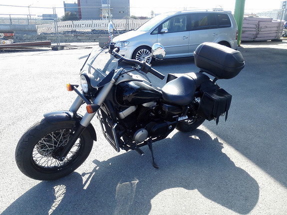 Honda VT 750 Shadow Black Spirit 2011, 22 000 km, kr 72 000,-