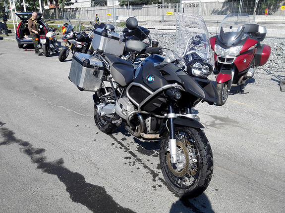BMW R1200GS Adventure 2010, 40 852 km, kr 155 000,-