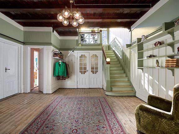 Sjelden mulighet: stor, praktfull trevilla i jugendstil fra 1913 - Sellebakk