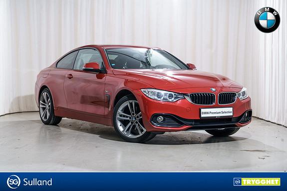 BMW 4-serie 420d xDrive (184hk) Coupé aut Soltak Skinn Navi HIFI