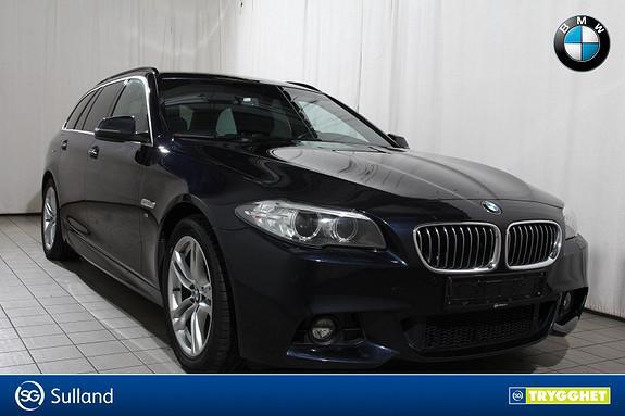BMW 5-serie 520dAT x-Drive M.SPORT-NORSK-NAVI-el.krok-SKINN-DAB-etc