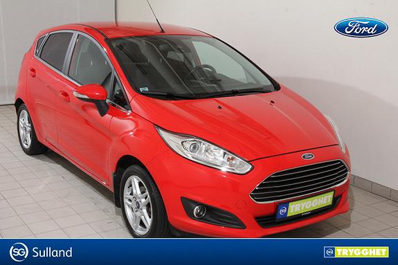 Ford Fiesta 1,0 80hk Titanium Dab+ - Klima- Ryggesensorer - Pen bil