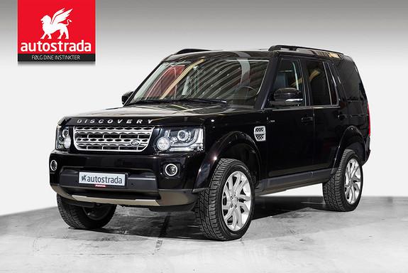 Land Rover Discovery SDV6 HSE Premium 256hk Vare