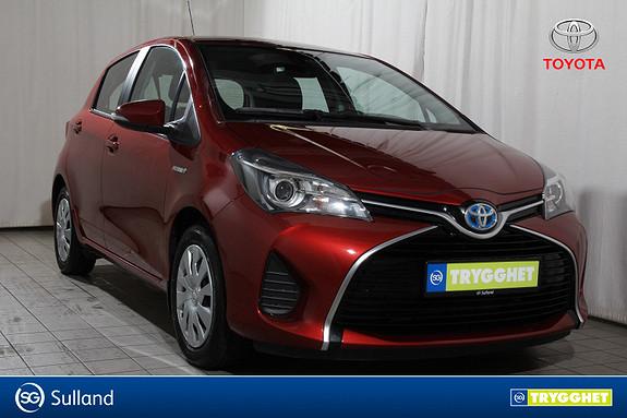 Toyota Yaris 1,5 Hybrid Active S e-CVT Navi-Bluetooth-Ryggekamera
