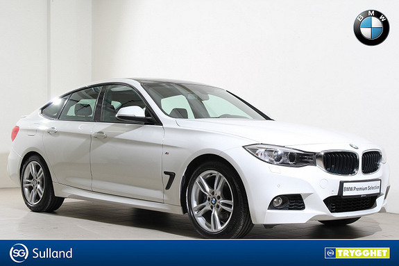 BMW 3-serie 320i xDrive GT aut M-Navi-HUD-PDC-DAB+-Panorama-Norsk++
