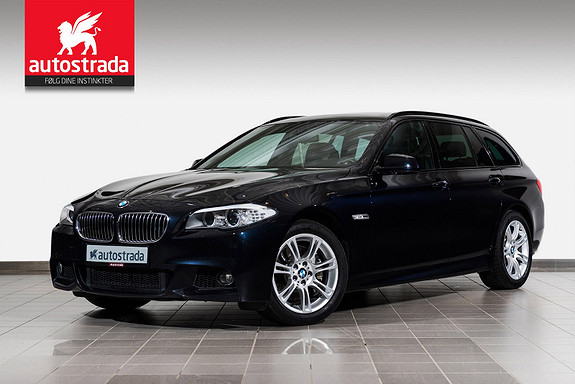 BMW 5-serie 525d xDrive 218hk T. M-Sportspakke