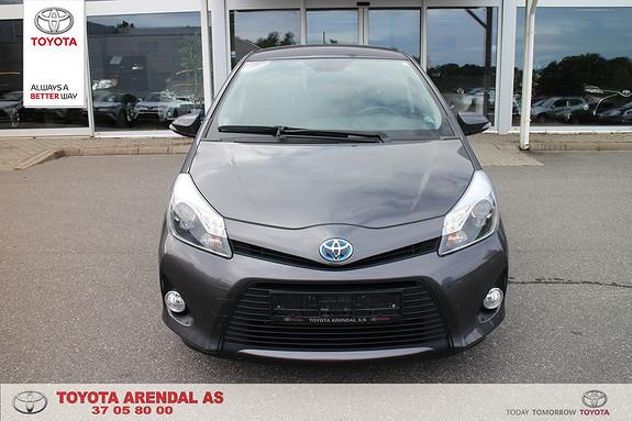 Toyota Yaris 1,5 Hybrid Style Topp modellen meget velholdt lav km  2014, 32000 km, kr 179000,-