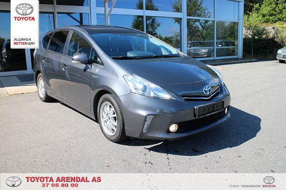 Toyota Prius+ Seven + Seven Hybrid 7 seter Excecutive Panorama tak  2012, 79000 km, kr 219000,-