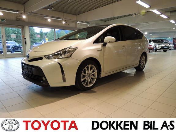 Toyota Prius+ Seven 1,8 VVT-i Hybrid Executive Skyview  2015, 36200 km, kr 309000,-