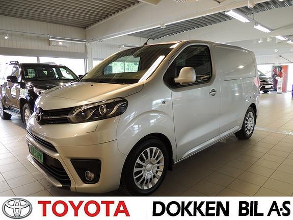 Toyota Proace 1,6 D 95 Comfort Compact L0H1 med comfortvegg  2016, 3651 km, kr 239000,-