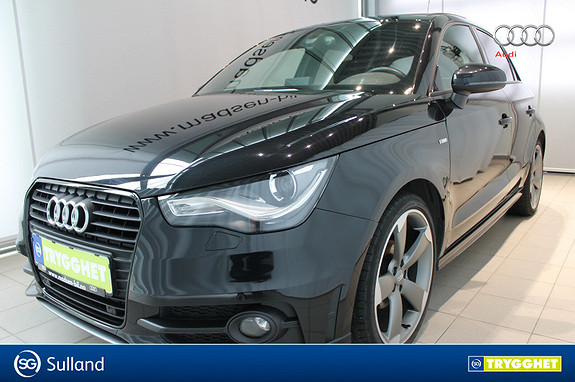 Audi A1 1,6 TDI 90 Hk S tronic Ambition LOADED S-LINE