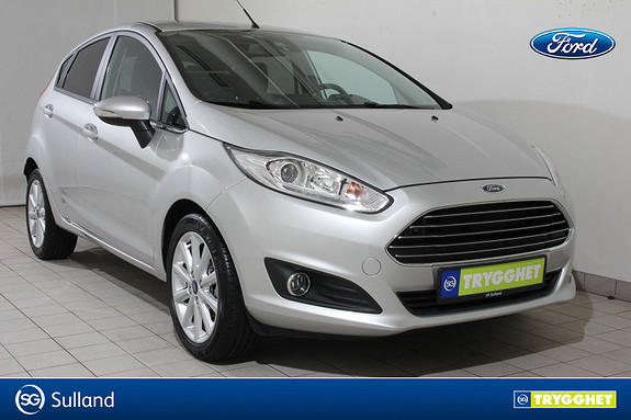Ford Fiesta 1,0 EcoBoost 100hk Titanium aut Navi- Dab+ - Som ny