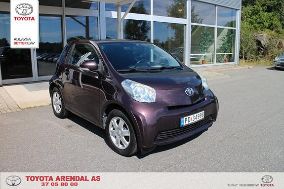 Toyota IQ 1,0VVT-i Norges rimligste IQ  2009, 110000 km, kr 46000,-