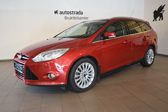 Ford Focus 1,0 EcoBoost 125hk Titanium Rentekampanje 0,99%