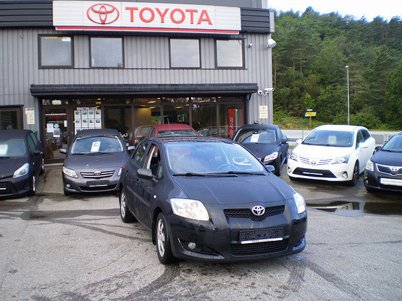 Toyota Auris Sol  2007, 151200 km, kr 88660,-