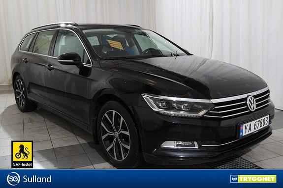 Volkswagen Passat 1,6 TDI 120hk Businessline .LED LYS.WEBASTO.FESTE.