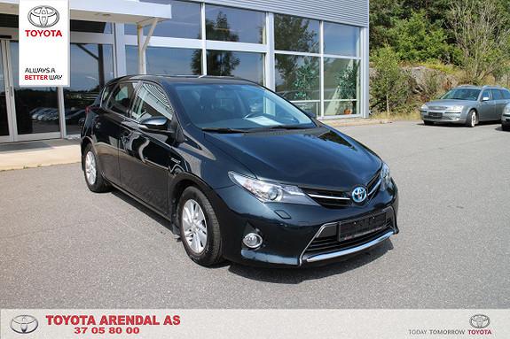 Toyota Auris 1,8 Hybrid E-CVT Active pen bil Hybrid med h feste ++  2013, 95000 km, kr 179000,-