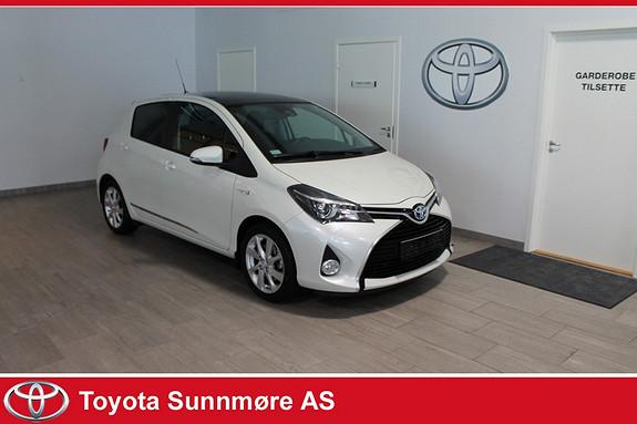 Toyota Yaris 1,5 Hybrid Style e-CVT LAV KM**TOPPUTSTYRT*PANORAMATAK*  2016, 4400 km, kr 219000,-