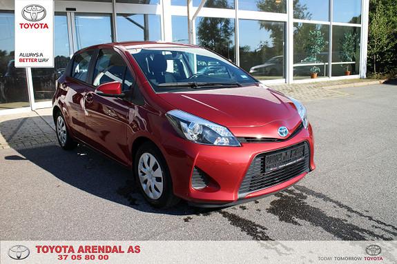 Toyota Yaris 1,5 Hybrid Active 1 eier servicer fulgt, lav km  2014, 32000 km, kr 165000,-
