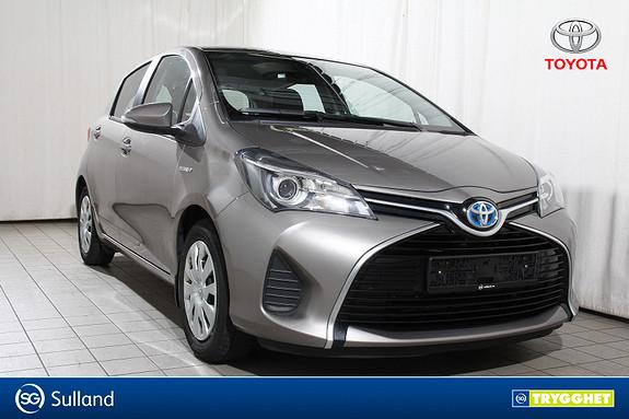 Toyota Yaris 1,5 Hybrid Active S e-CVT DAB+ Nybilgaranti-Ryggekamera