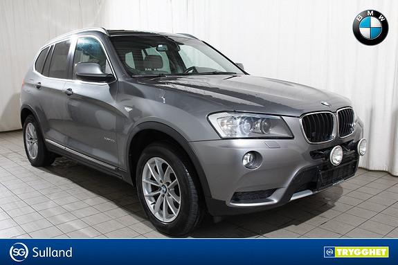 BMW X3 20iAxDrive Nav-Ad.X-aut.bakluke-XLine-EDC-el.Krok-R.Kam