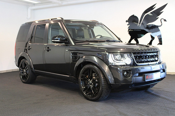 Land Rover Discovery HSE Lux Black Pack Kamera BLIS Varmer Pianolakk