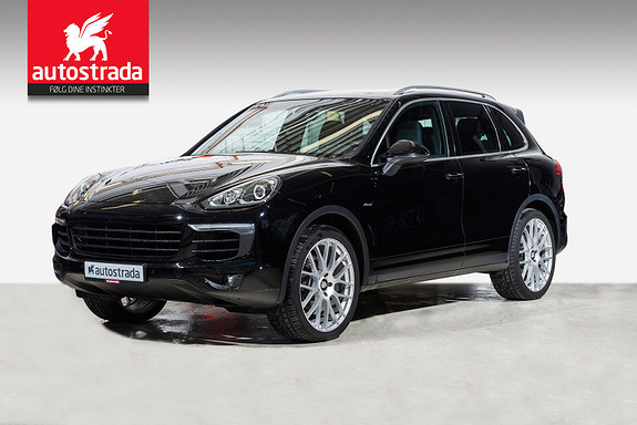 "Porsche Cayenne Diesel 262hk/ 18-veis/ Panorama/ 22""/ BOSE"