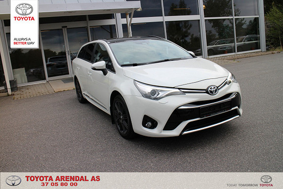 Toyota Avensis Touring Sports 1,8 Active Style M-drive 7S Som ny 4600k  2017, 4600 km, kr 375000,-