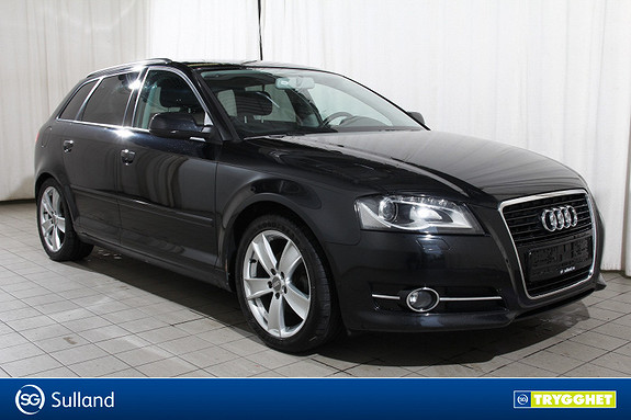 Audi A3 1,6 TDI 105hk Ambition Norsk-PDC-Xenon-Cruisecontrol