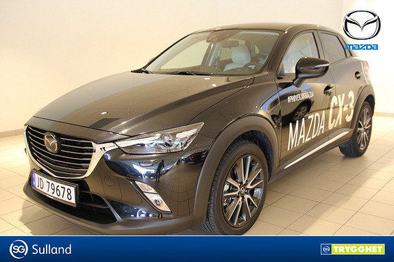 Mazda CX-3 2,0 150hk Optimum AWD aut Demobil / Alt utstyr