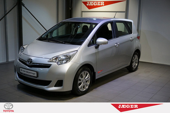 Toyota Verso-S 1,33 Dynamic Style S&S Multidrive S M. DAB+  2011, 59 200 km, kr 159 000,-