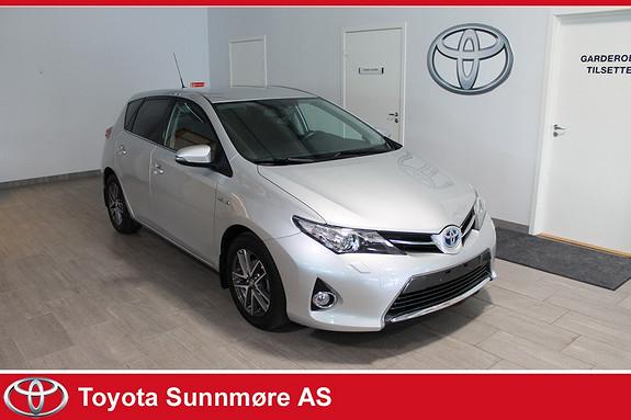 Toyota Auris 1,8 Hybrid E-CVT Active+ **LAV KM**VELHOLDT**AUTOLYS**N  2014, 22000 km, kr 225000,-