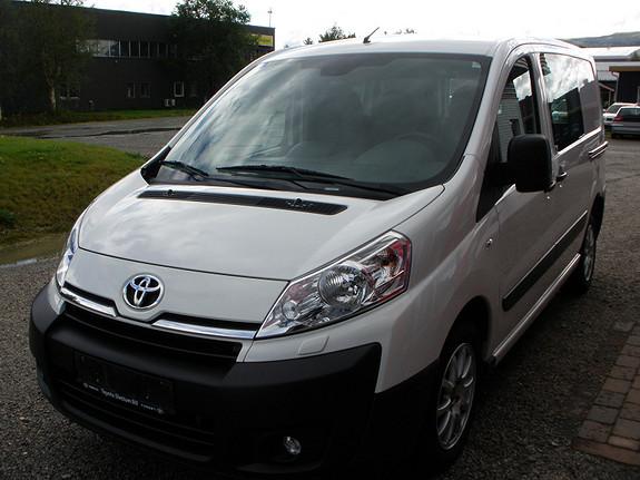 Toyota Proace 2,0 128hk L1H1 (m/bakluke)  2014, 38095 km, kr 169000,-