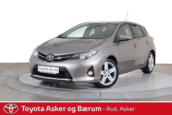 Toyota Auris 1,33 Dual VVT-i  Style LAV KM  2013, 21800 km, kr 169000,-